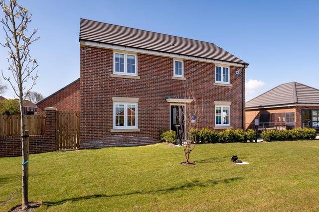 Miller Homes' Longridge Farm development in Bedlington.