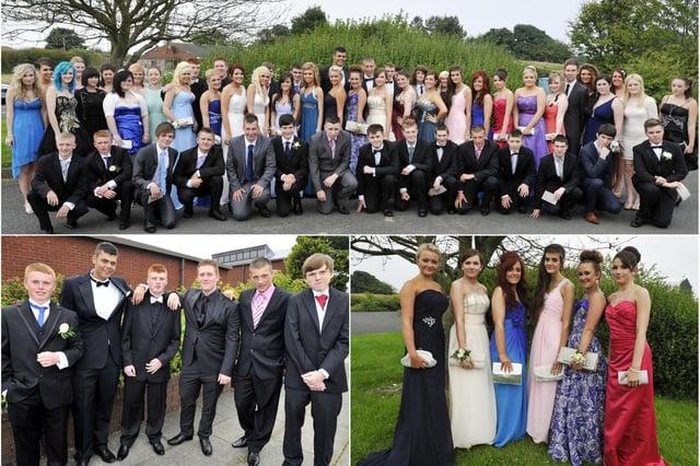 James Calvert Spence College in Amble 2012 prom.