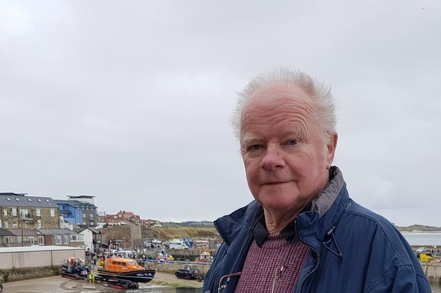 Geoffrey Stewart, who has stood down from North Sunderland Parish Council after 45 years.