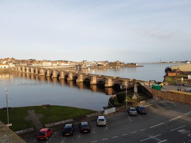 The Old Bridge in Berwick.