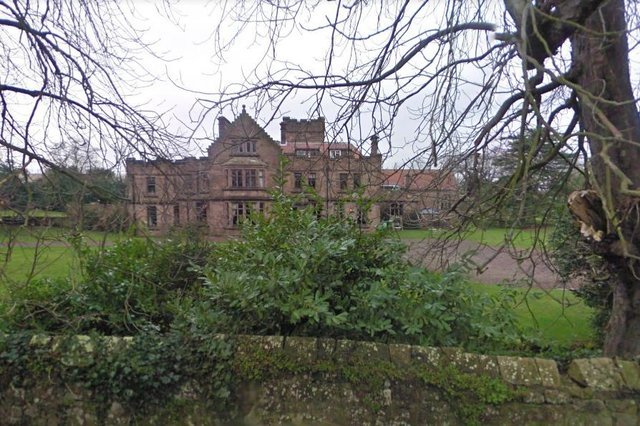 Ellingham Hall. Picture from Google