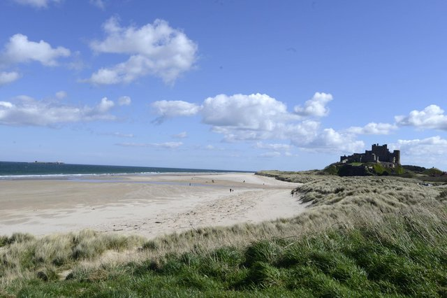You've been sharing your favourite places for a family walk in Northumberland.