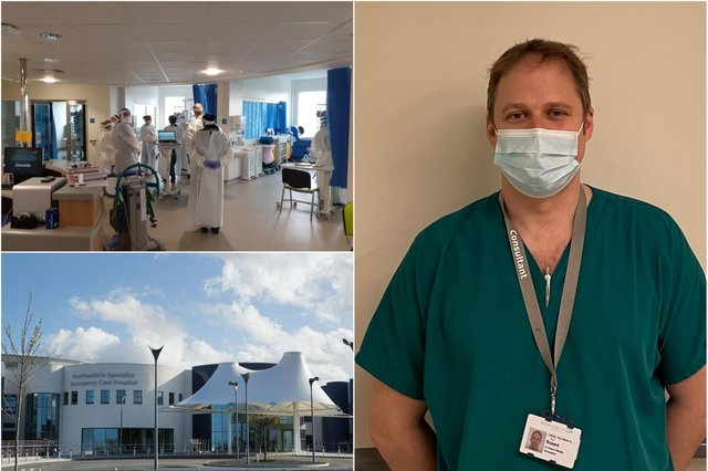 Dr Rob Whittle, head of critical care at Northumbria Healthcare NHS Foundation Trust.