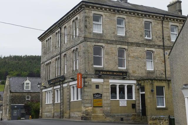 The Railway Hotel, Rothbury.