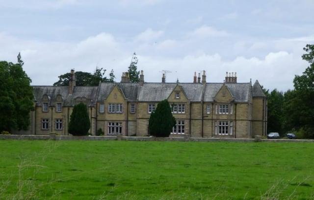 Carham Hall, near Cornhill.