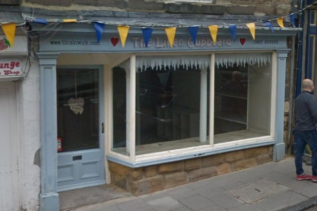 The proposed site of a new micropub in Alnwick.