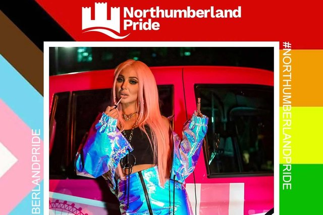 Tulisa is heading to the Northumberland Pride Festival.