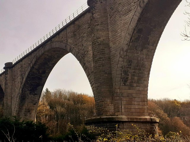 The Victoria Viaduct, which carries the Leamside Line, one of the projects outlined in the £7billion transport bid for the North East which has been agreed.