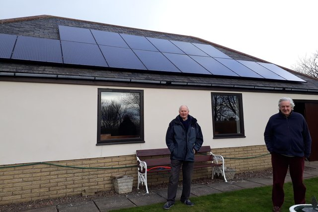 Berwick Bowling Club received a grant for the installation of solar panels.