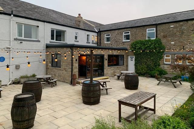 The Twice Brewed pub at Bardon Mill.