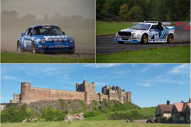 Classic rally cars are coming to Brunton and Bamburgh.