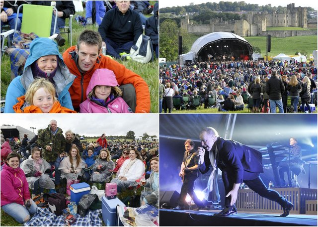 Scenes from the 2014 Alnwick Pastures concert, with Simple Minds, Toploader and Ella Janes.