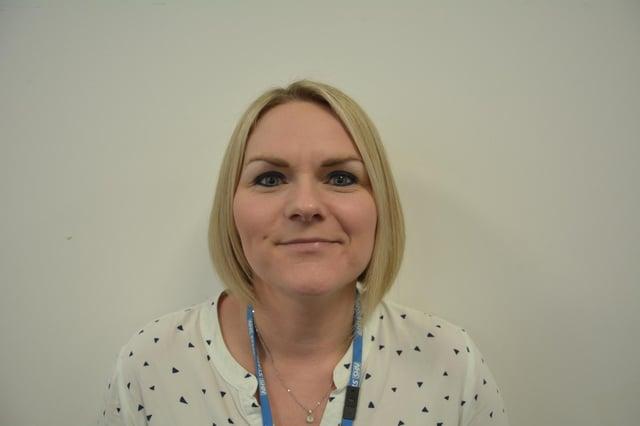 Jenna Wall, head of midwifery.