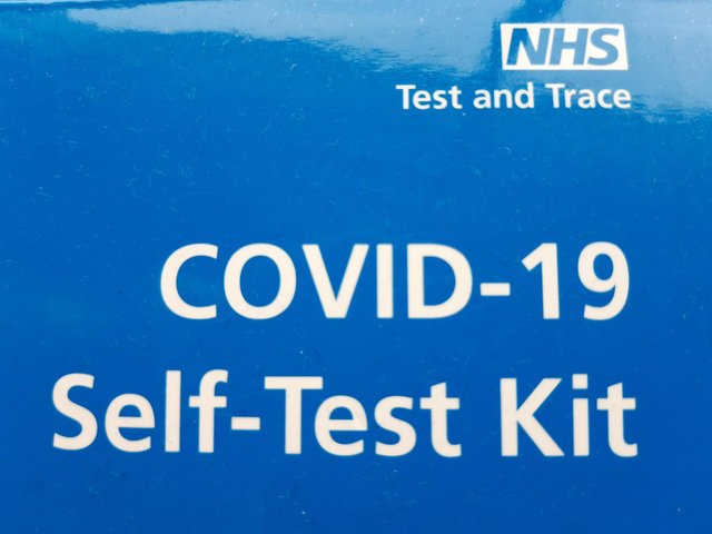 Covid-19 test kit.