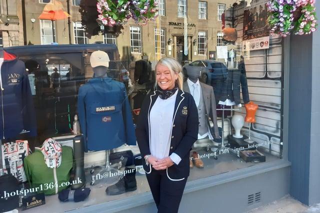 Lisa Aynsley, chairman of Alnwick Chamber of Trade.