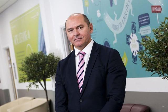 Sir James Mackey, Northumbria Healthcare NHS Foundation Trust's chief executive.