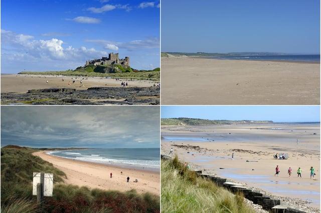 Northumberland beaches.
