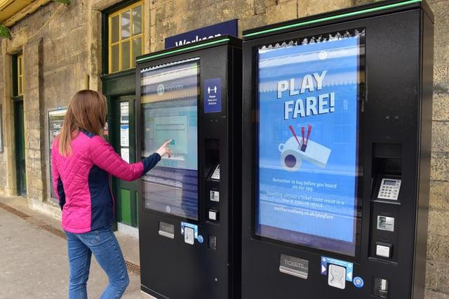 Rail firm's fare dodger warning