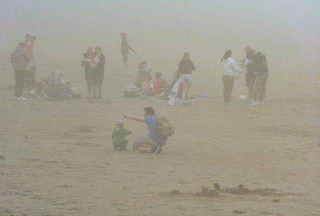 Sea fret can hide the view –and the sun –on spring and summer days.