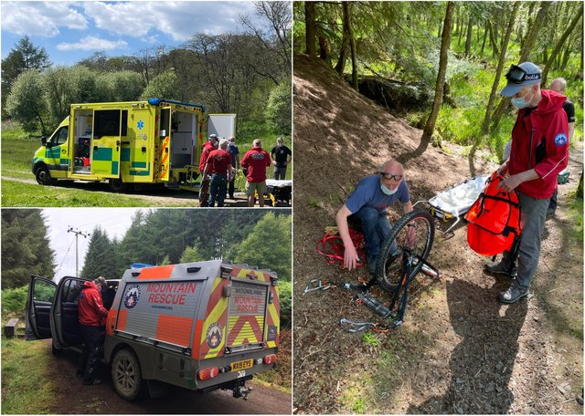 Mountain rescue teams were kept busy in half term week.