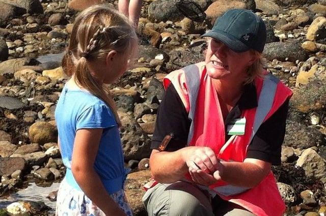 Jane Dixon is getting back to passing on her seashore expertise through herRanger Jane Beach School.