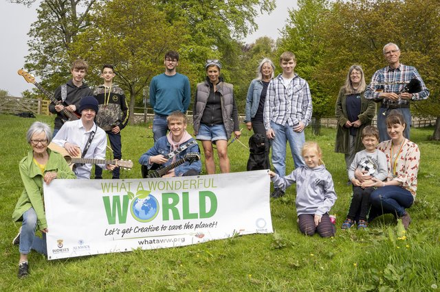 What a Wonderful World (WaWW), a new Northumberland-based group fighting climate change.